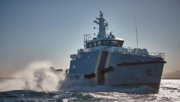 Aquashield sea trials